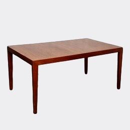 Walnut Dining Extension Table by Knoll