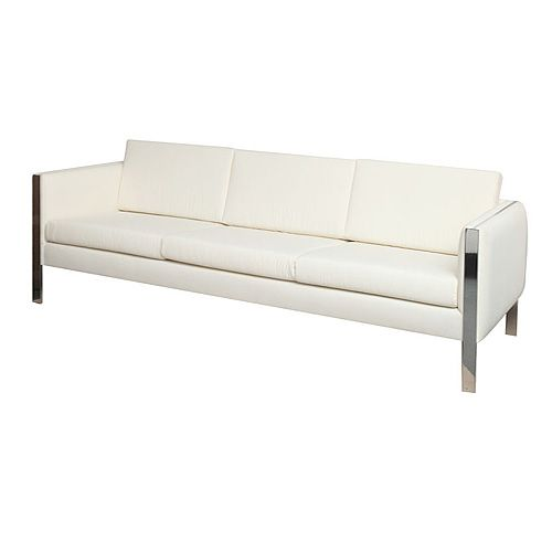 Sofa in the style of Milo Baughman