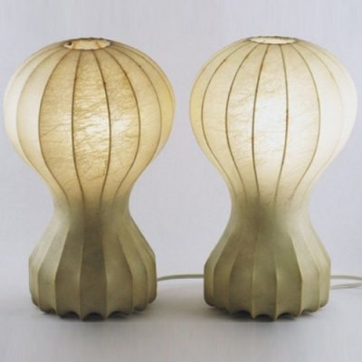 Pair of Vintage Small Gatto Table Lamps