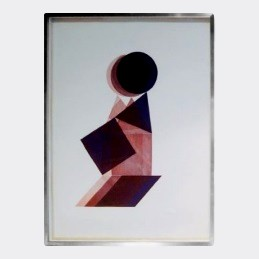 Graphic Print by Pol Bury