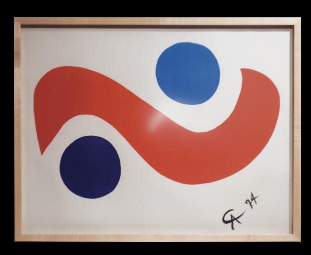 Serigraphs by Alexander Calder