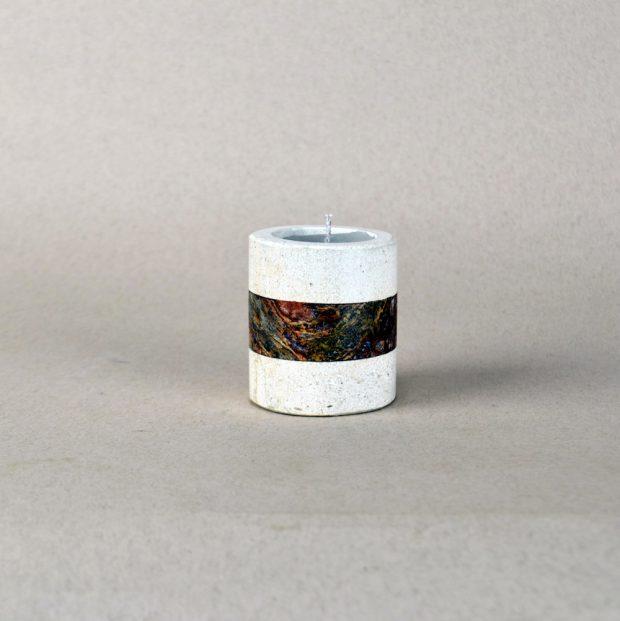 Onyx Candle Holder 12c 1
