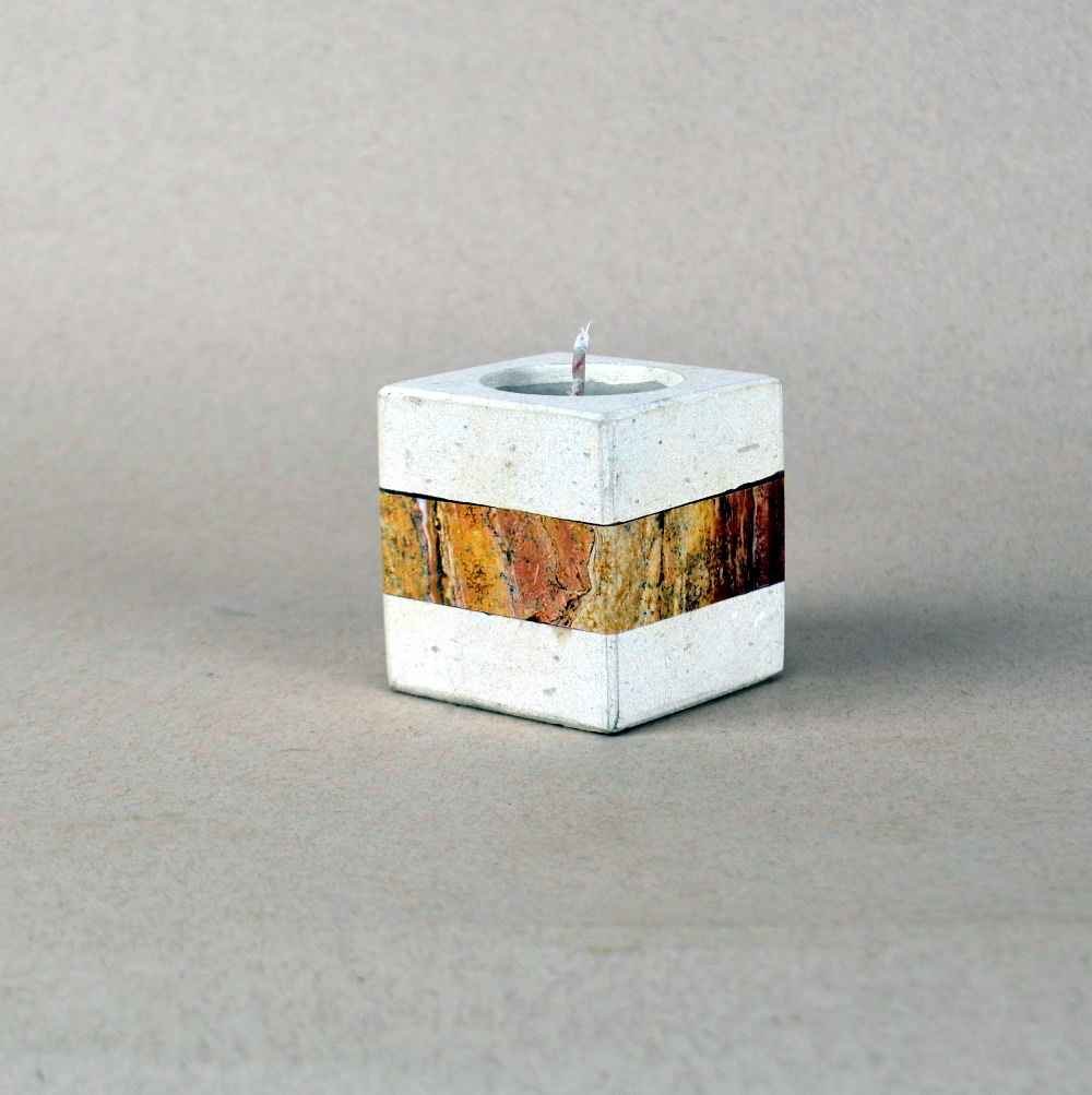 Onyx Candle Holder 13c 1