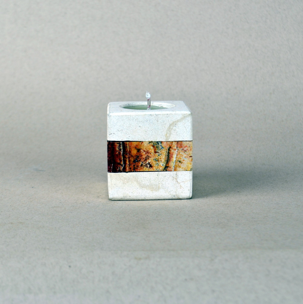 Onyx Candle Holder 13d 1