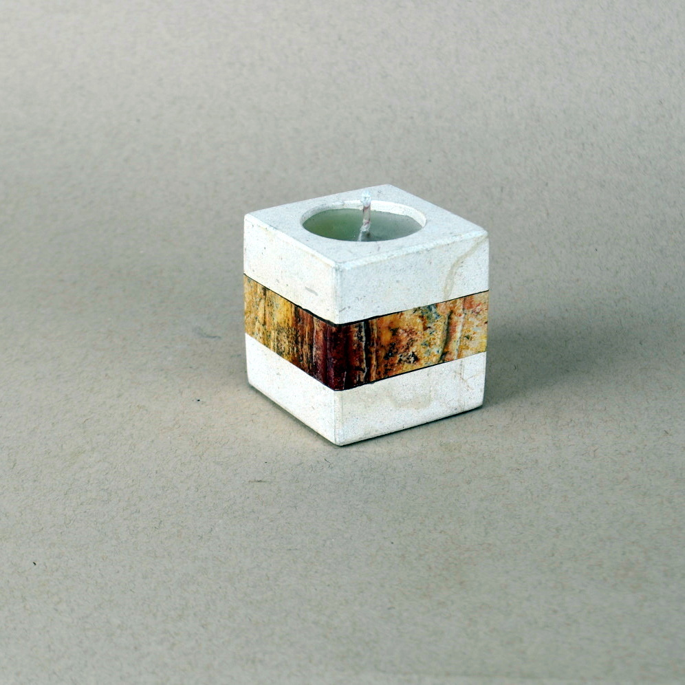 Onyx Candle Holder 13e 1