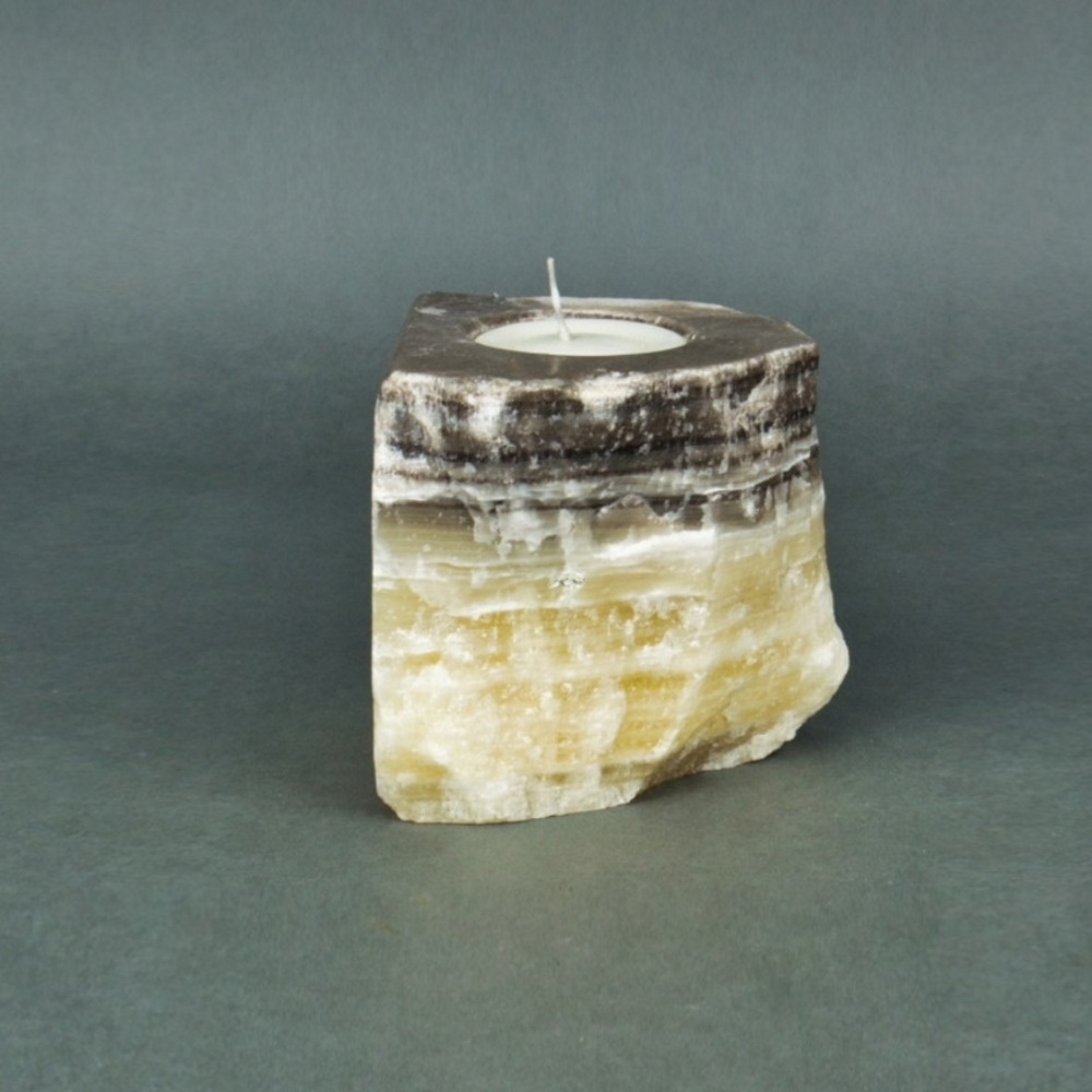Onyx Candle Holder 15d