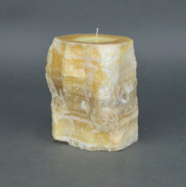Onyx Candle Holder 16f