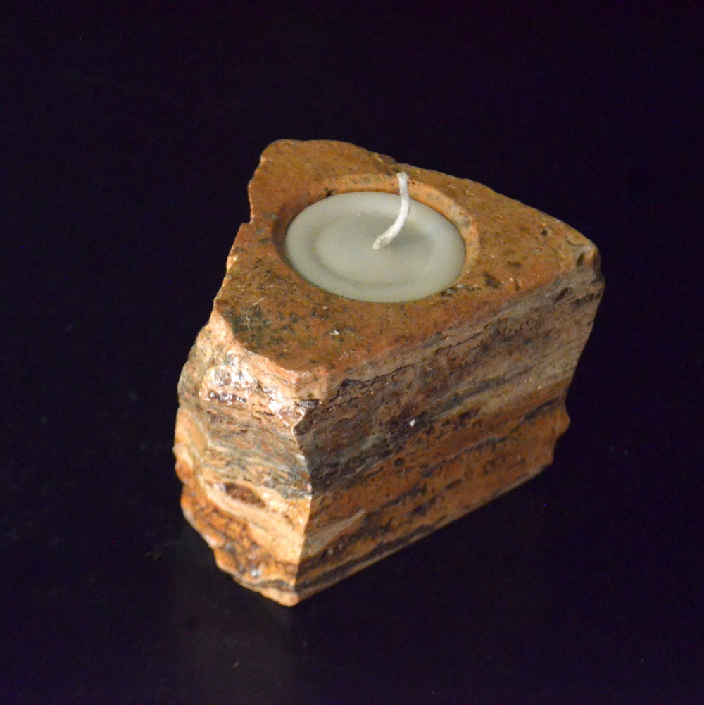 Onyx Candle Holder 19d 1