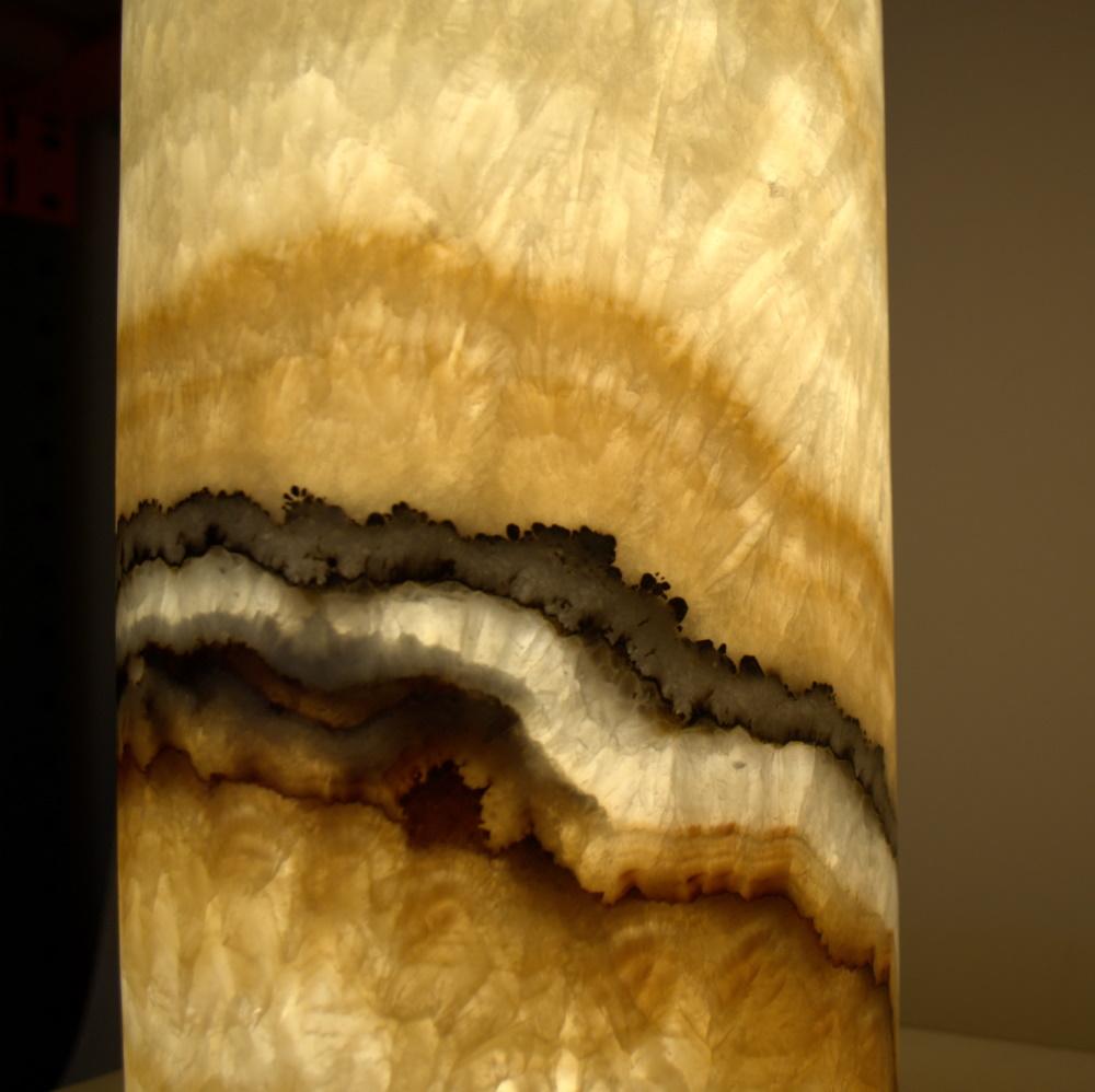 Onyx Table Lamp 14c
