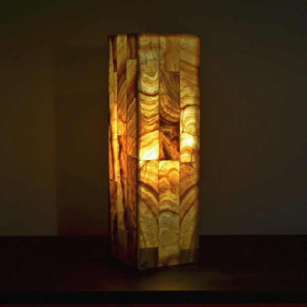 Onyx Table Lamp 84 4