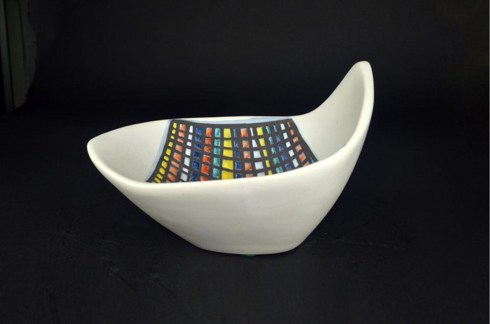 Bowl With Cobblestone ('pavé') Decor By Roger Capron 4