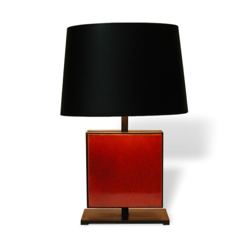 Avila Table Lamp With Roger Capron Tile By Gueridon Designs