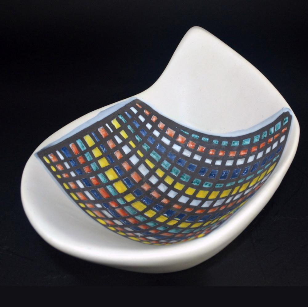 Bowl With Cobblestone ('pavé') Decor By Roger Capron 2