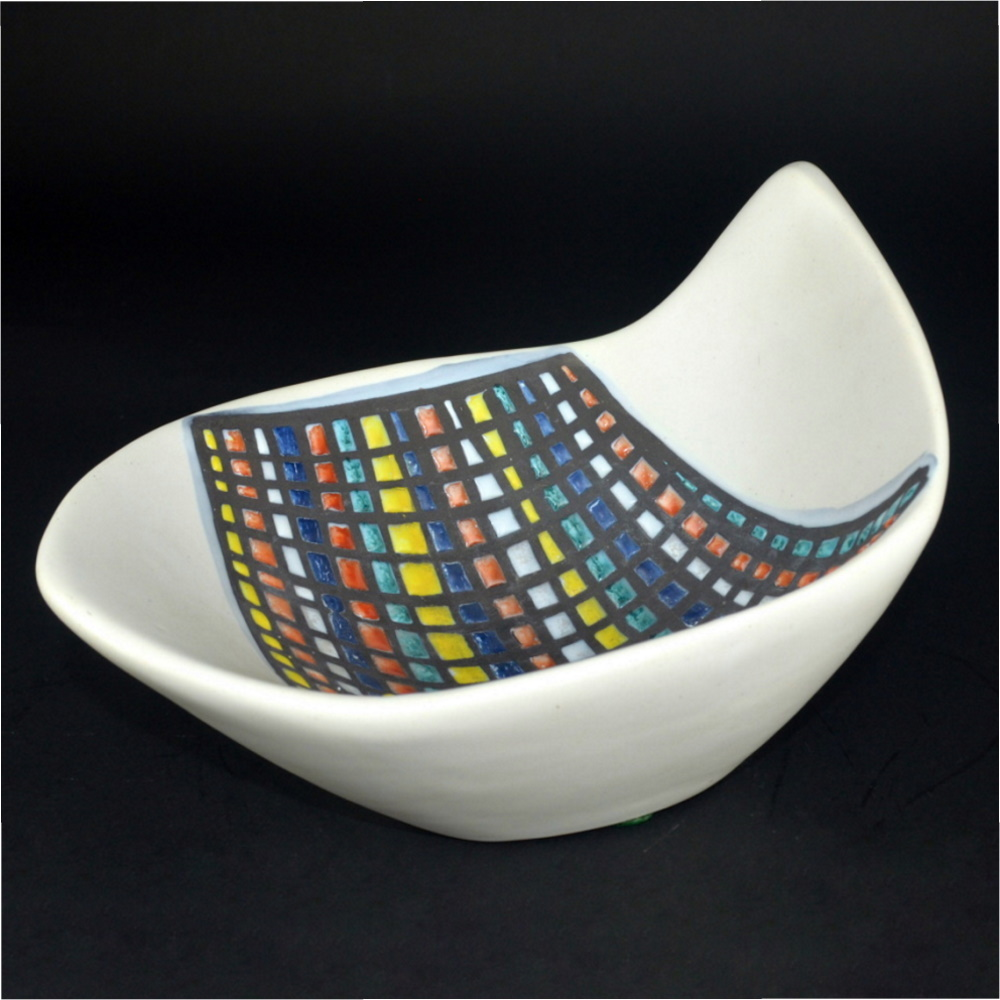 Bowl With Cobblestone ('pavé') Decor By Roger Capron 3 2