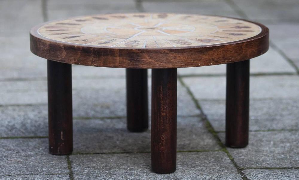 Capron Ceramic Coffee Table 1 1stdibs Z Full