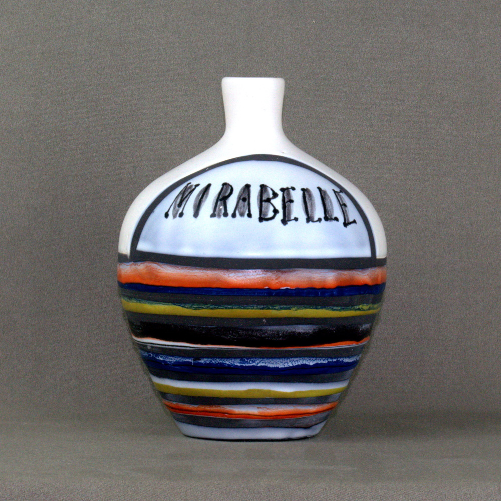 Ceramic Caraf 'mirabelle' By Roger Capron 3