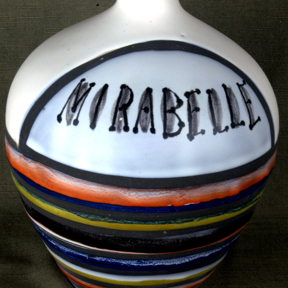 Ceramic Caraf 'mirabelle' By Roger Capron 4