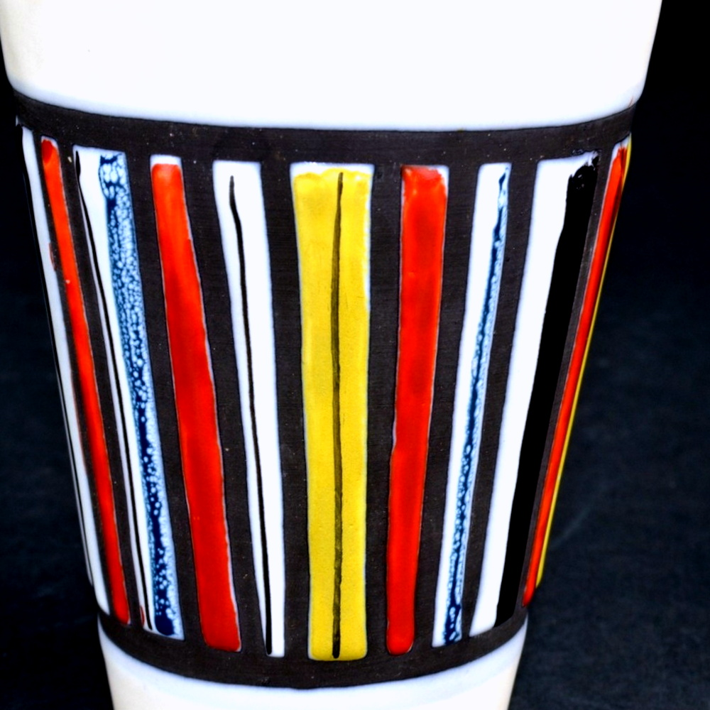 Ceramic Cup With Stripes By Roger Capron 4