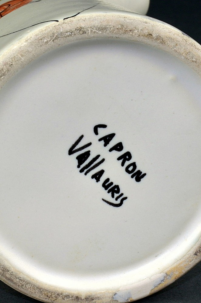 Ceramic Flask 'marc' By Roger Capron 9