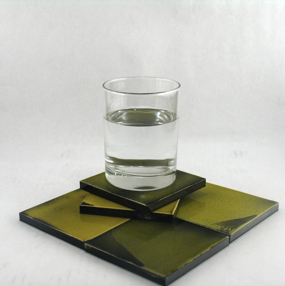 Ceramic Coasters By Roger Capron 2