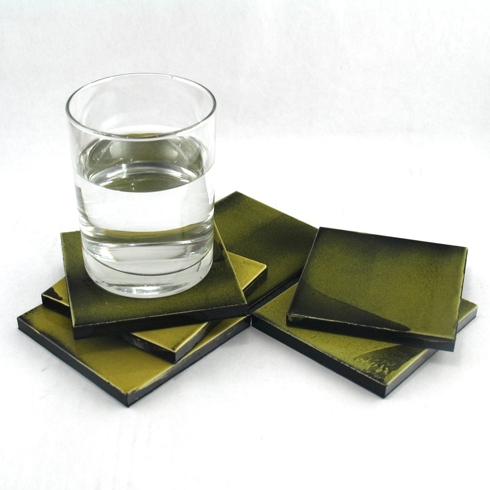 Ceramic Coasters By Roger Capron