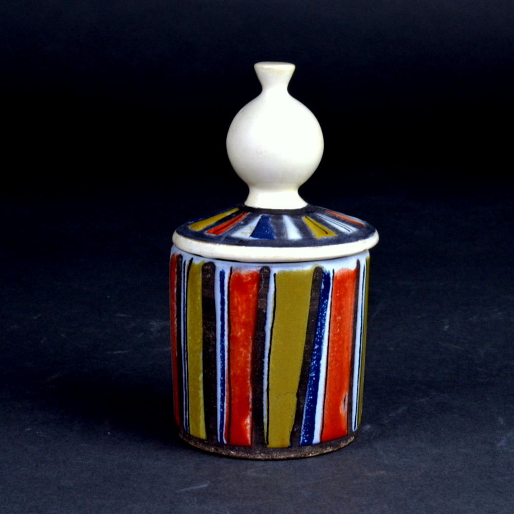Ceramic Container For Spices By Roger Capron 2