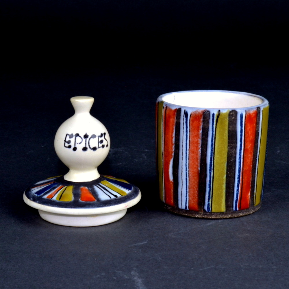 Ceramic Container For Spices By Roger Capron 6