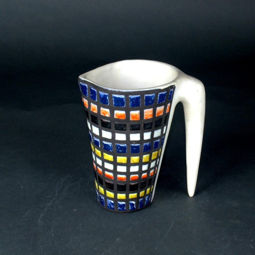 Decorative Ceramic Saucer With Cobblestones By Roger Capron 5 (2)