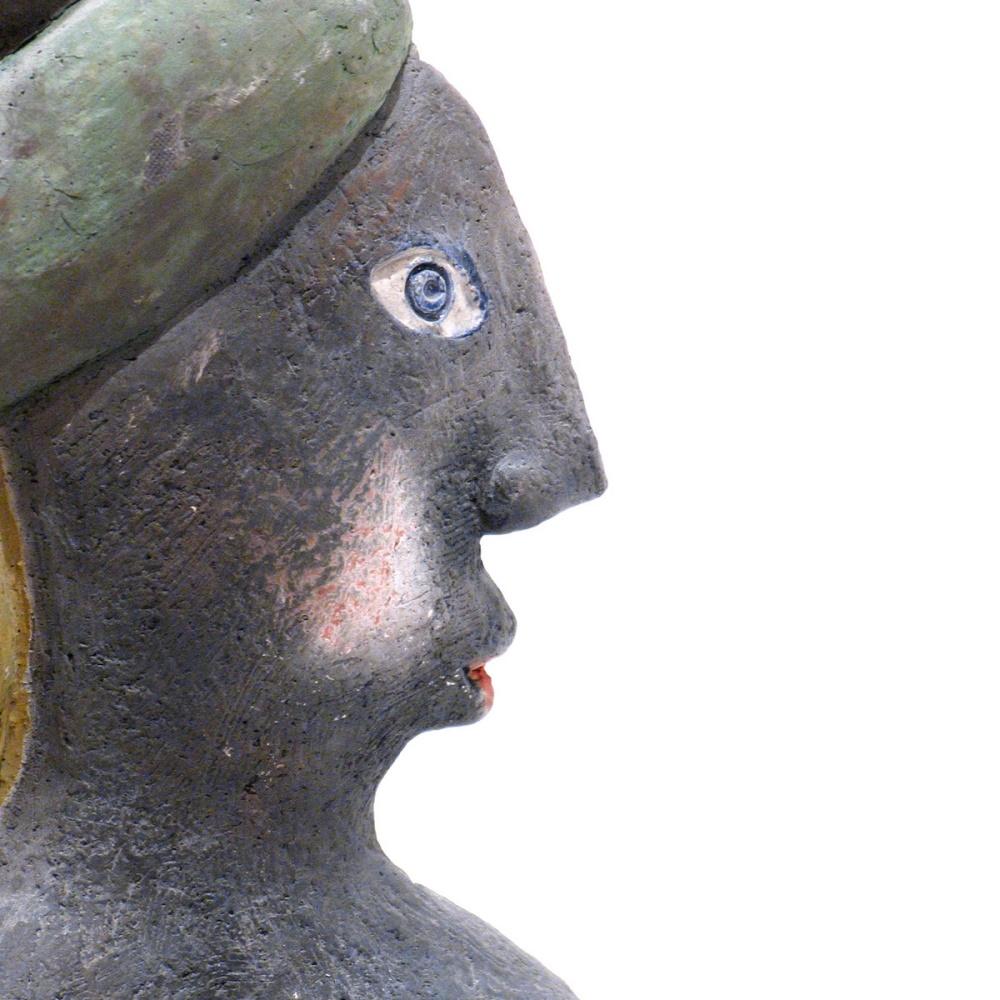 La Chevelue Ou La Marie Steph Sculpture By Roger Capron7