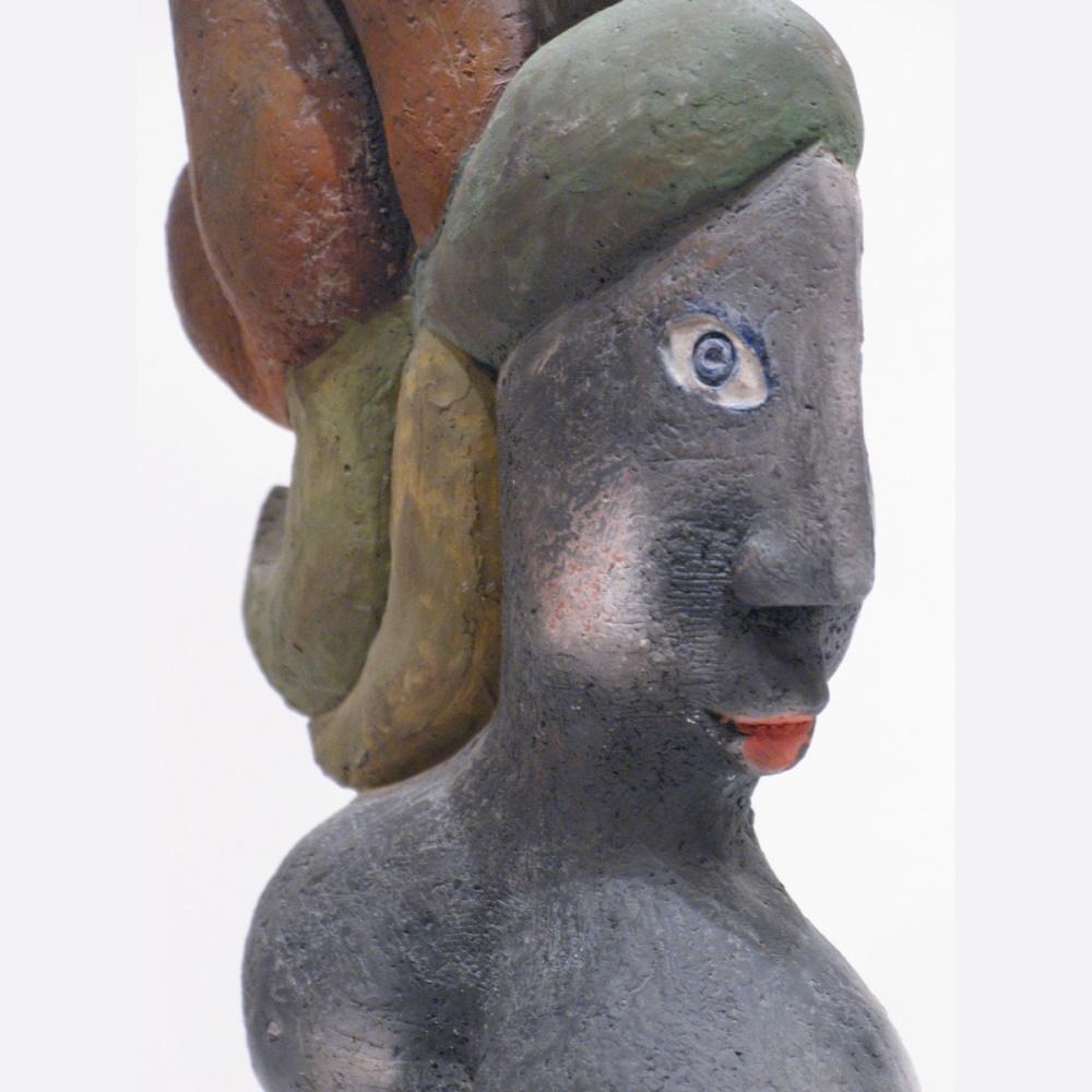 La Chevelue Ou La Marie Steph Sculpture By Roger Capron8