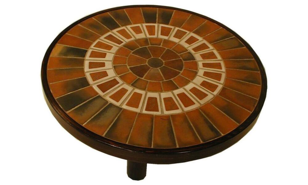 Roger Capron Ceramic Coffee Table C71 15 2