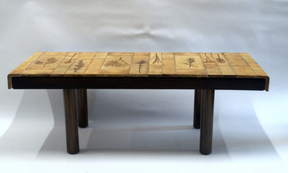 Roger Capron Ceramic Coffee Table C71 28 1