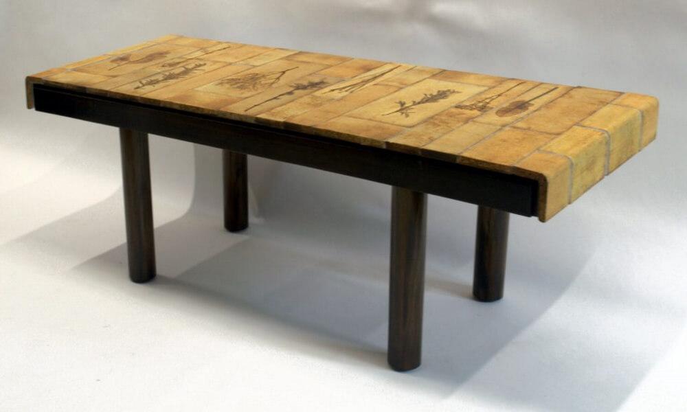 Roger Capron Ceramic Coffee Table C71 28 2
