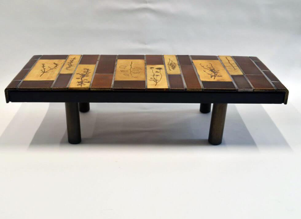 Roger Capron Ceramic Coffee Table C71 55 2