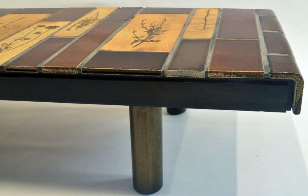 Roger Capron Ceramic Coffee Table C71 55 3