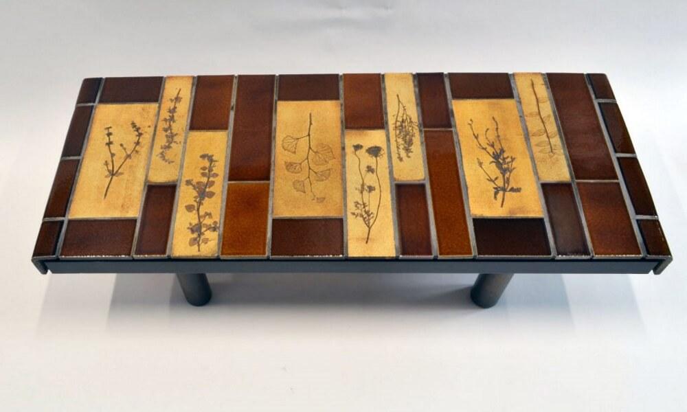 Roger Capron Ceramic Coffee Table C71 55 5
