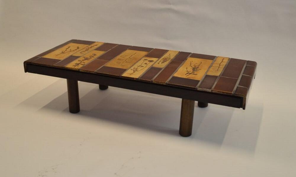 Roger Capron Ceramic Coffee Table C71 55 8