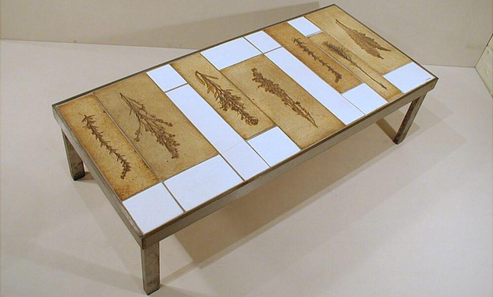 Roger Capron Ceramic Coffee Table C71 77 1