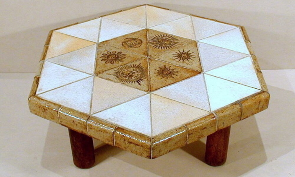 Roger Capron Coffee Table 105