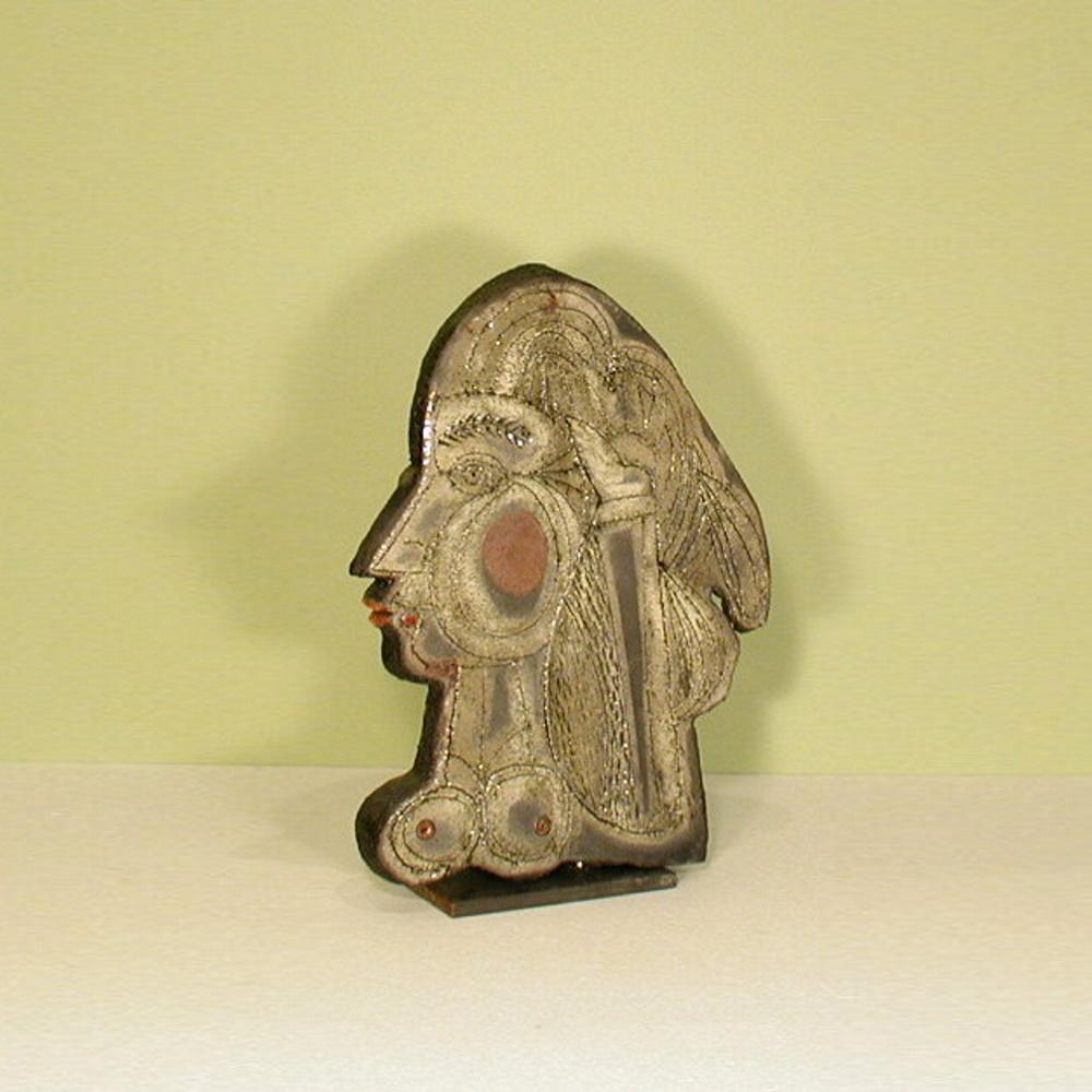 Roger Capron Sculpture Cleopatra