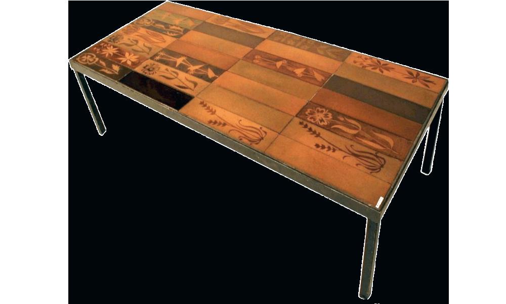 Roger Capron Vintage Ceramic Coffee Table C71 20