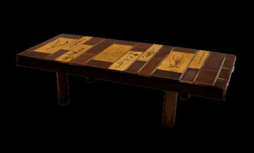 Roger Capron Vintage Ceramic Coffee Table C71 33