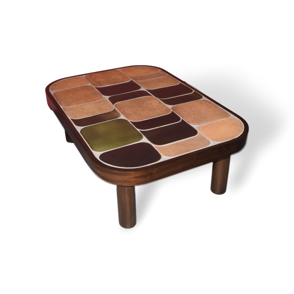 Roger Capron Vintage Ceramic Coffee Table C71 35
