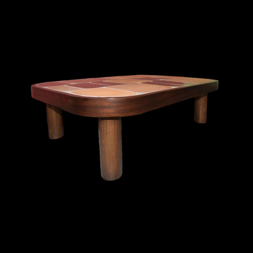 Roger Capron Vintage Ceramic Coffee Table C71 35b