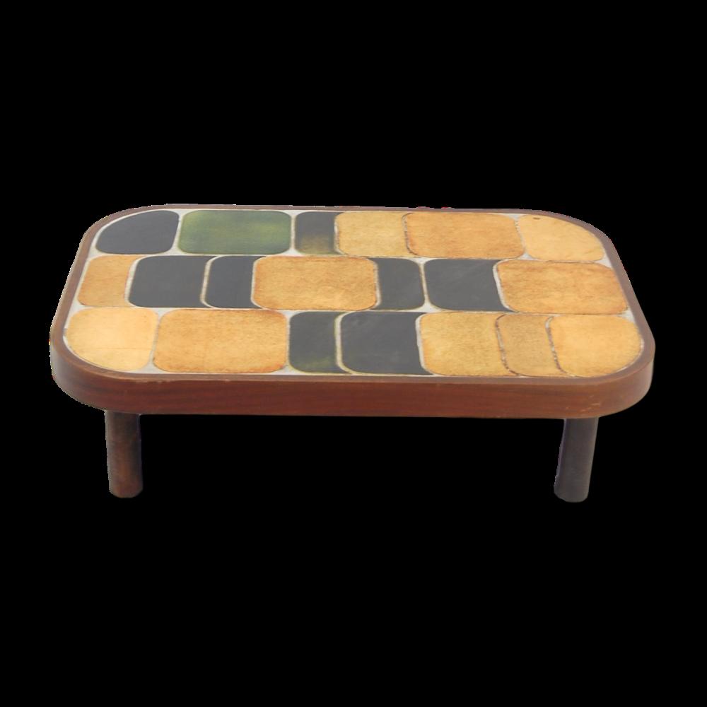 Roger Capron Vintage Ceramic Coffee Table C71 41