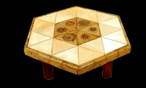 Roger Capron Vintage Ceramic Coffee Table C71 45