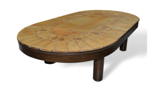 Roger Capron Vintage Ceramic Coffee Table C71 69 1