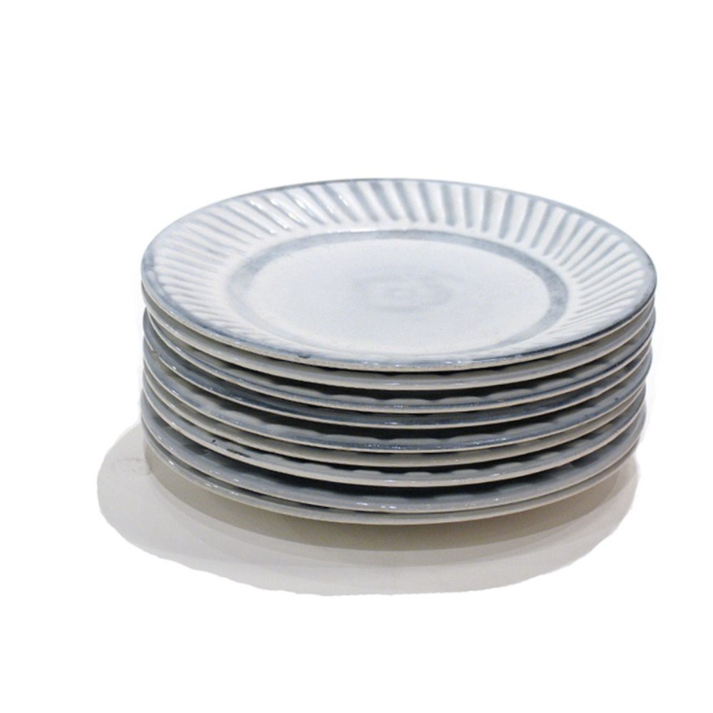 Set Of 9 Small Plates By Roger Capron 3