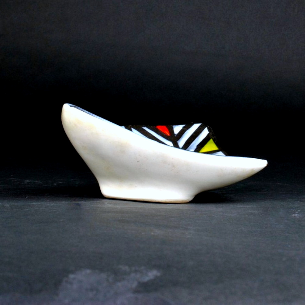 Small Ceramic Dipping Tray By Roger Capron 12