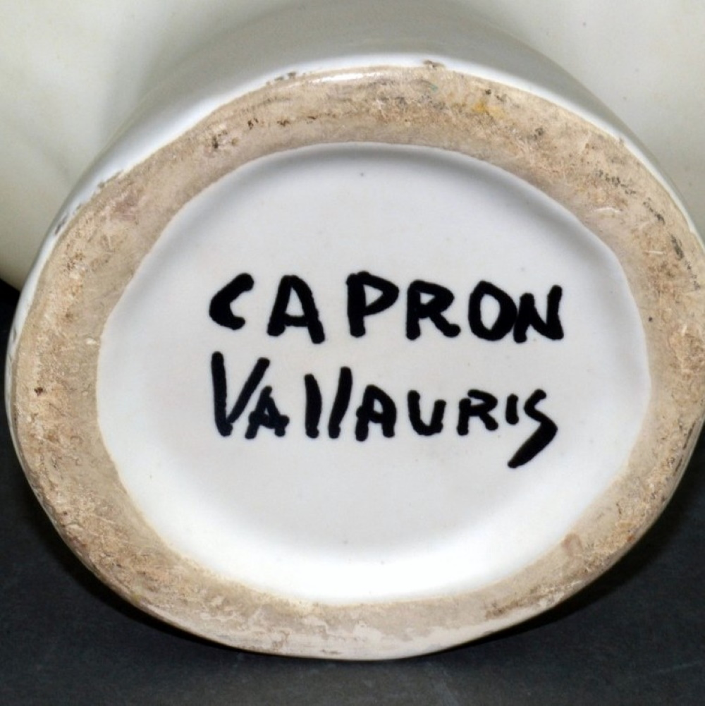 Vintage Ceramic Bird Saucer By Roger Capron 2